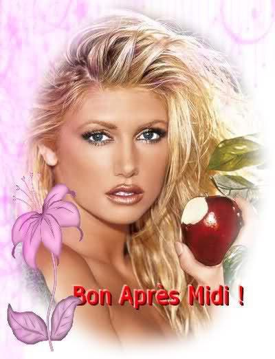 BON APRESMIDI A VOUS TOUS ET TOUTES (sauf aux con(ne)S! ) BISOUSS...!!!