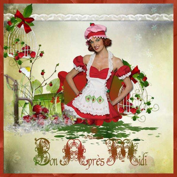 BON APRES MIDI A TOUS MES AMI(e)S !!! BISOUSS.... !!!!