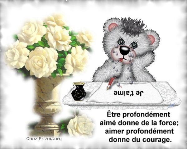 L'AMOUR....YA RIEN DE PLUS BEAU...!!!