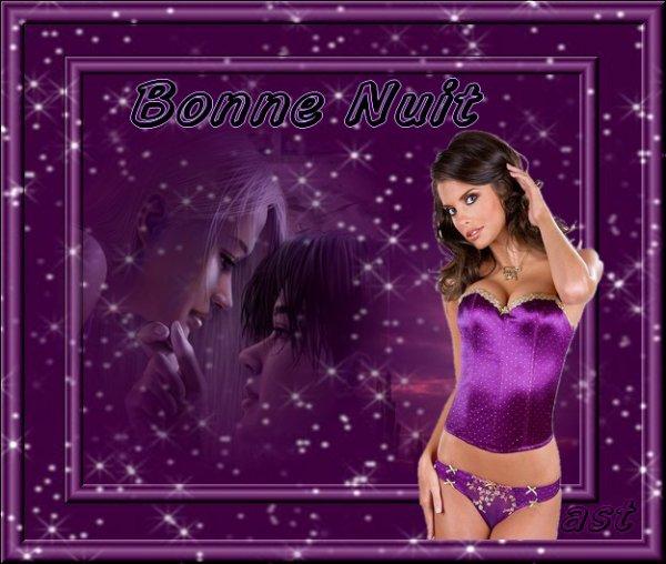 BONNE NUIT ET BON VENDREDI...BONNE FIN DE SEMAINE... BISOUS A TOUS MES AMI(E)S....