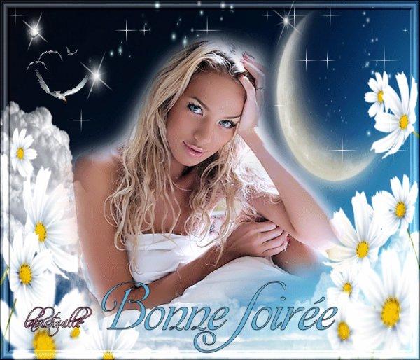 BONNE SOIREE A VOUS TOUS ET TOUTES ....BISOUSS....!!!