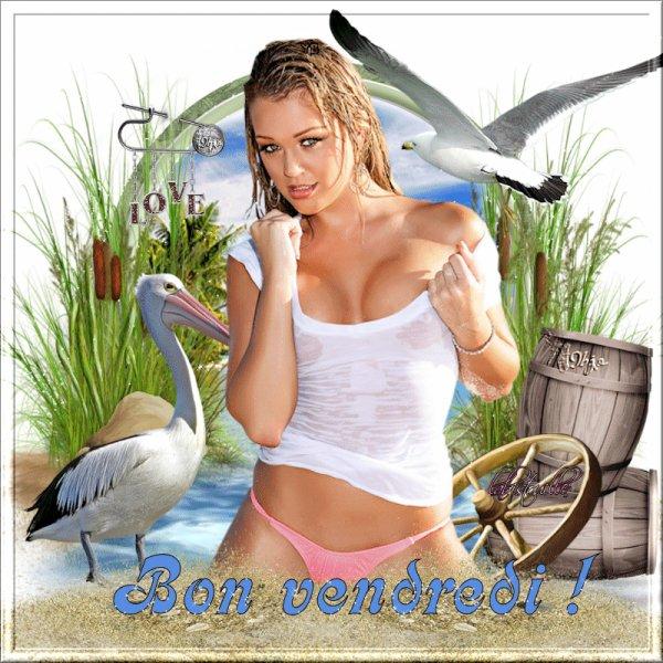 BON VENDREDI...BONNE FIN DE SEMAINE A VOUS TOUS ET TOUTES... BISOUSS...!!!