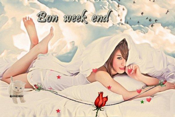 BON WEEK END A VOUS TOUS ET TOUTES...COOL LE SOLEIL EST DE RETOUR !!! BISOUSS...