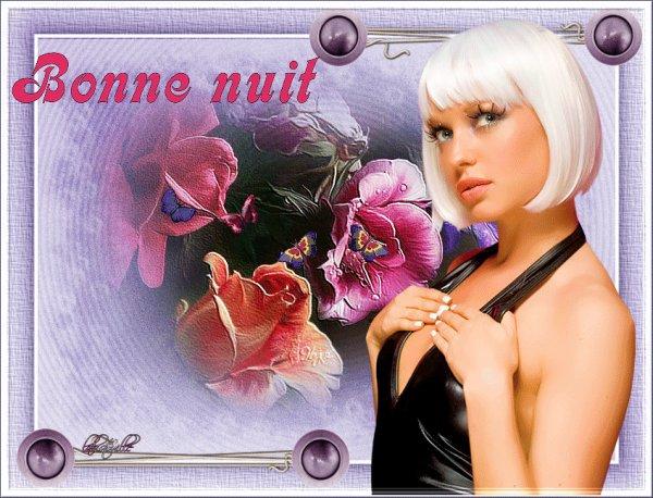 JE VOUS SOUHAITE UNE BONNE FIN DE SOIREE SUIVIE D'UNE DOUCE NUIT....BISOUSS... !!! A DEMAIN... !!!