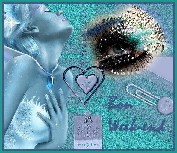BON WEEK A VOUS TOUS ET TOUTES...ET BONNES VACANCES A CEUX ( celles! )QUI LE SONT... !!! GROS BISOUSS...!!!