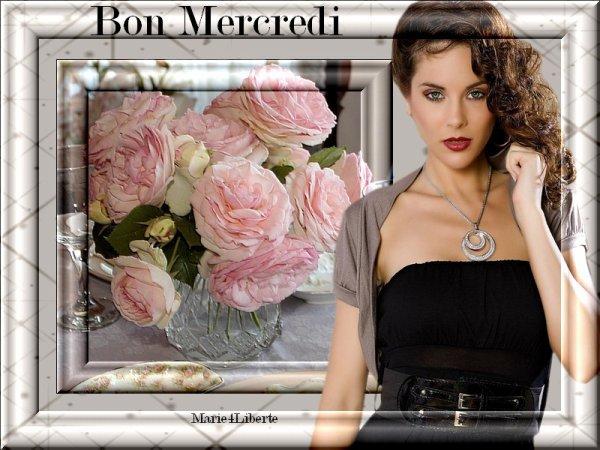 BON MERCREDI 15 AOUT...BONNE JOURNEE FERIEE ET BONNE FETE A TTES LES MARIE ( et dérivés!!!) C AUSSI MA FETE !!!  BISOUSS....