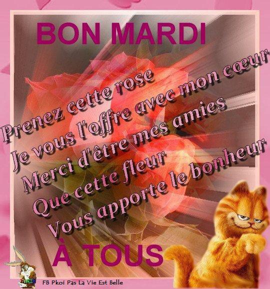 EN CETTE JOURNEE DE RENTREE SCOLAIRE JE PASSE VOUS SOUHAITER UN BON MARDI ... GROS BISOUSSS... !!!