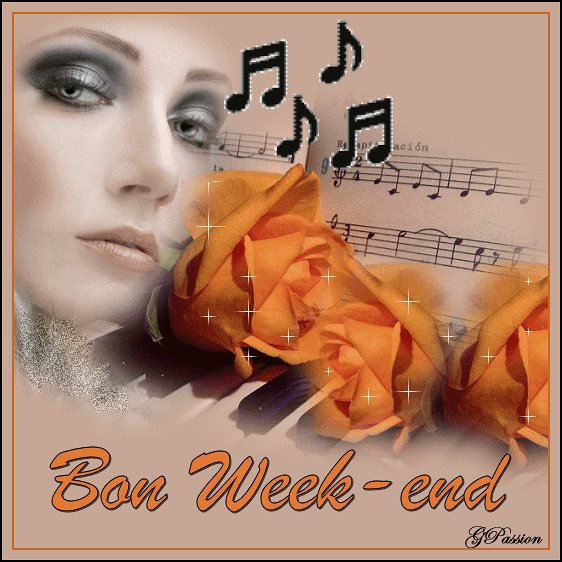 BON SAMEDI ET BON WEEK END A VOUS TOUS ET TOUTES... BISOUSS... !!!