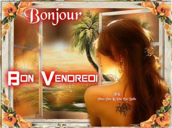 BONNE NUIT A TOUS.... BON VENDREDI ET BONNE FIN DE SEMAINE..OUF C LE WEEK END DEMAIN SOIR !!!! BISOUS...!
