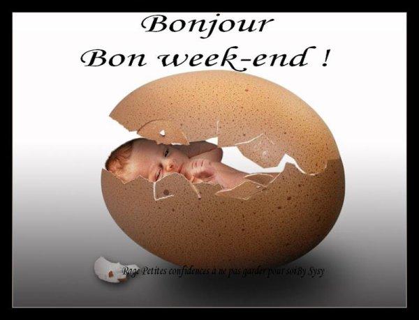 BONNE NUIT ET BON WEEK END A VOUS TOUS ET TOUTES.... BISOUSS... !!!