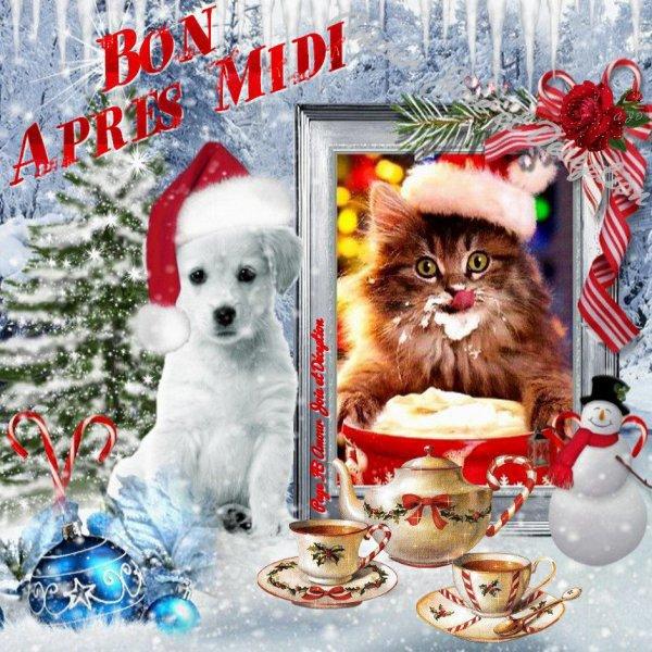 BON DIMANCHE APRES MIDI A TT LE MONDE !!! BISOUS A MES AMI(e) S... !!!