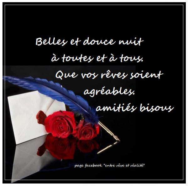 BONNE NUIT ET BON JEUDI MES AMI(E)s Malgré LE FROID...COUVREZ VOUS BIEN !!! BISOUSS... !!!