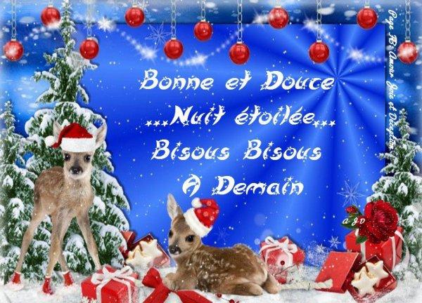 BONNE NUIT ET BON WEEK END A VOUS TOUS ET TOUTES....BISOUSS... !!!