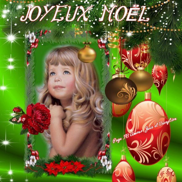 JOYEUX NOEL A TOUS MES AMI(E)S.... BISOUSSS... !!!