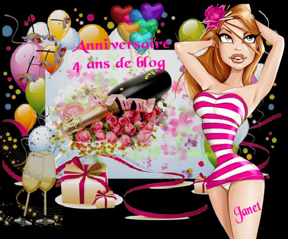 MON BLOG A 4 ANS AUJOURD'HUI ...DEJA !!!MERCI A VOUS TOUS ET TOUTES POUR VOTRE FIDéLITé AU COURS DE CES ANNEES !!!!  BISOUS MES AMI(E)S.... ♥♥♥