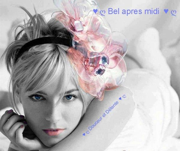 BON DIMANCHE APRES MIDI A VOUS TOUS ET TOUTES....BISOUSS.... !!!