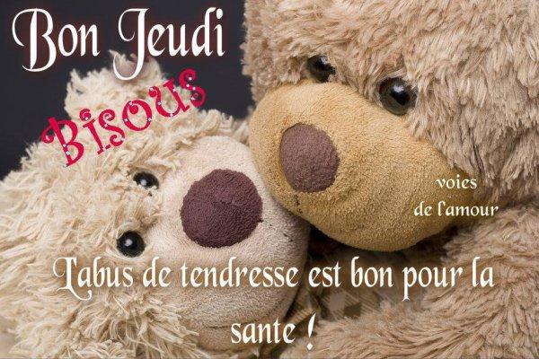 BON JEUDI APRES-MIDI A VOUS TOUS ET TOUTES ! BISOUSSS !!! ♥♥♥
