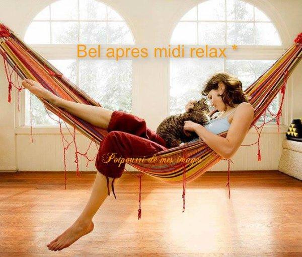 JE VOUS SOUHAITE UN BON MARDI APRES-MIDI ET UNE BONNE SEMAINE AVEC UN PEU DE RETARD !!! BISOUSS MES AMI(E)S.... ♥♥♥