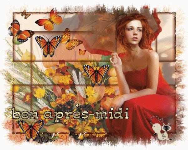 BON DIMANCHE APRES-MIDI A VOUS TOUS ET TOUTES !!! J-18  BISOUSSSS ♥♥♥
