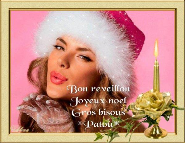 BON REVEILLON A VOUS TOUS ET TOUTES.... BISOUSSS.....♥♥♥