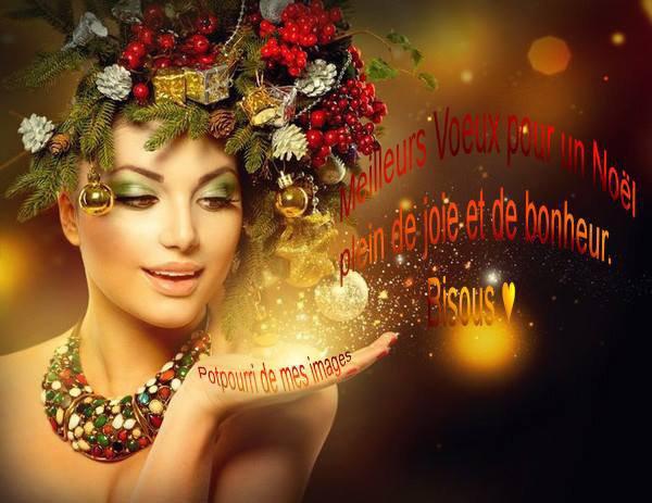 JOYEUX NOEL A TOUS MES AMI(E)S.... PLEIN DE JOIE ET DE BONHEUR POUR VOUS ! GROS BISOUSSS.... !!!! ♥♥♥