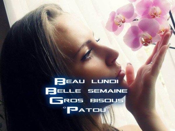 BON LUNDI APRES-MIDI A VOUS TOUS ET TOUTES AINSI QU'UNE TRES BONNE SEMAINE !!! BISOUS MES AMI(E)S......♥♥♥