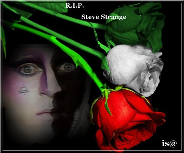 Visage - Fade To Grey  ( 1982 ) Hommage à Steve STRANGE le chanteur du groupe qui nous a quittés jeudi dernier ! RIP MR STRANGE ! ;)