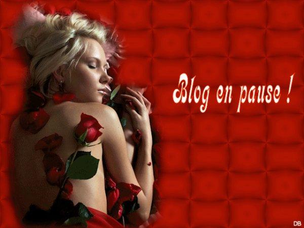 BLOG EN PAUSE....LE TEMPS QUE JE ME RETABLISSE ! BONNE SEMAINE MES AMIS ET...A BIENTOT ! BISOUSSS...... ♥♥♥