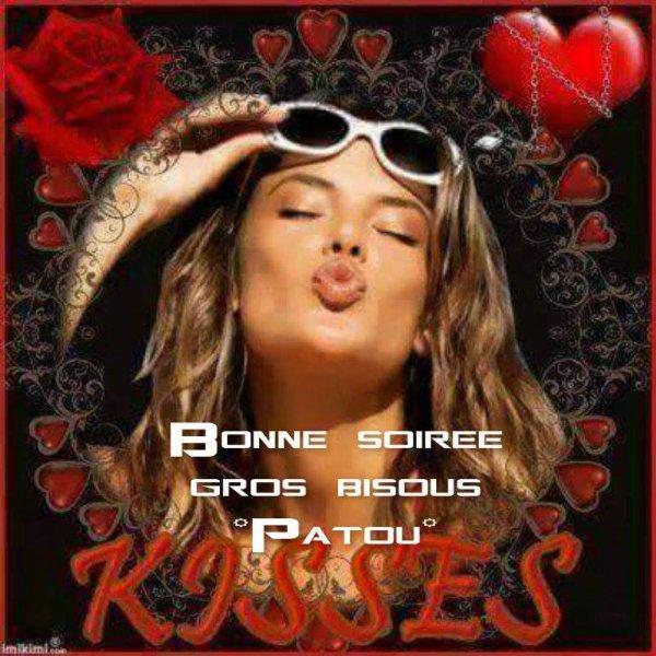 BONNE SOIREE A VOUS TOUS.....DOUCE NUIT.... ET PENSEZ CE SOIR A AVANCER VOS REVEILS D'UNE HEURE ...HEURE D'ETE OBLIGE...ON VA DORMIR UNE HEURE DE MOINS...GRR ! BISOUS MES AMI(E)S..... ♥♥♥