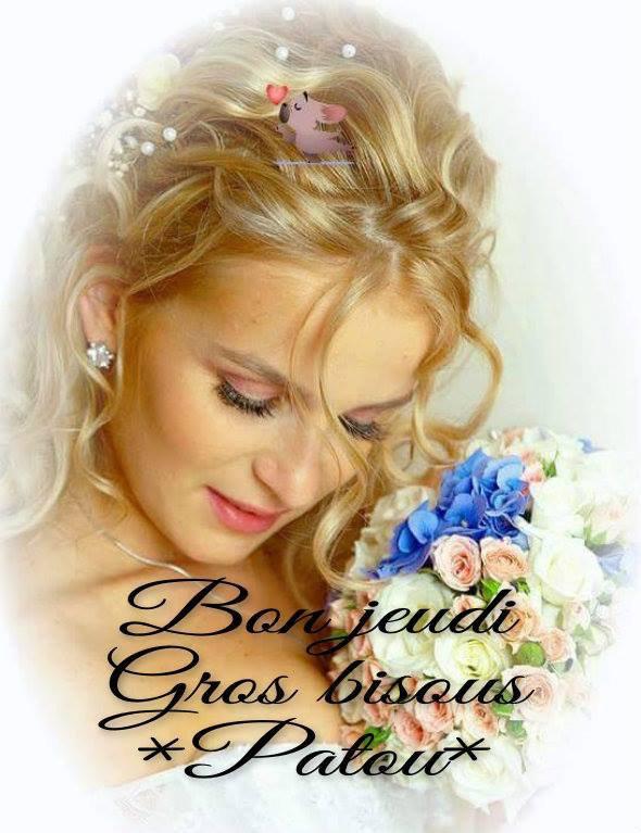 BON JEUDI A VOUS TOUS ET TOUTES.... BISOUSSS !!! ♥♥♥