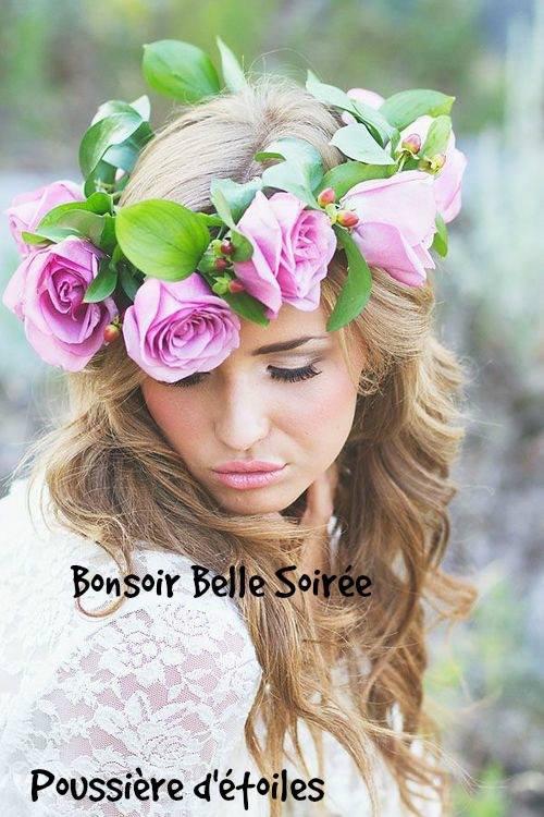 BONNE SOIREE SUIVIE D'UNE DOUCE NUIT ET UNE BONNE FIN DE ( LONG !!! ) WEEK END !!! BISOUS MES AMI(E)S.... ♥♥♥