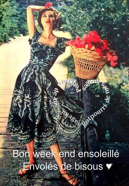 BON SAMEDI APRES-MIDI ENSOLEILLé A VOUS TOUS ET TOUTES ET BON WEEK END !!!! BISOUS MES AMI(E)S.... ♥♥♥