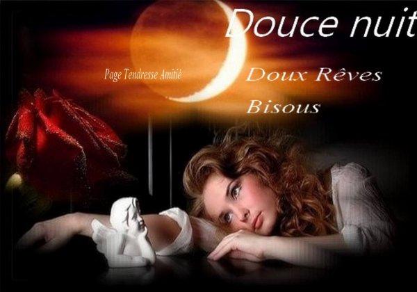 Hé OUI LE WEEK END EST DEJA FINI..FINI LES LONGS WEEK END !!! BONNE SOIREE SUIVIE D'UNE DOUCE NUIT....BONNE FIN DE WEEK END !!! BISOUSSS !!!! ♥♥♥