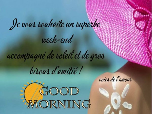 BON SAMEDI SOIR....BELLE SOIREE ET BON WEEK END ! BISOUSSSS ♥♥♥