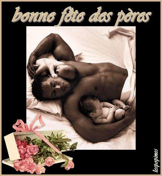 BON DIMANCHE ET BONNE FETE A TOUS LES PAPAS DU MONDE ENTIER ! BISOUS FLEURIS ! ♥♥♥