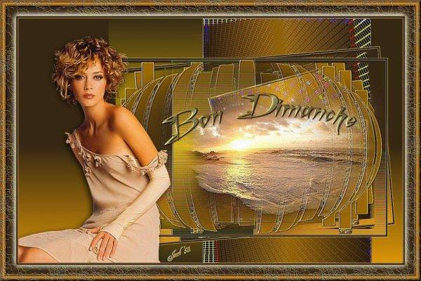 BON DIMANCHE APRES-MIDI ENSOLEILLé !BONNE FIN DE WEEK -END !!! ;) BISOUS MES AMI(E)S..... ♥♥♥