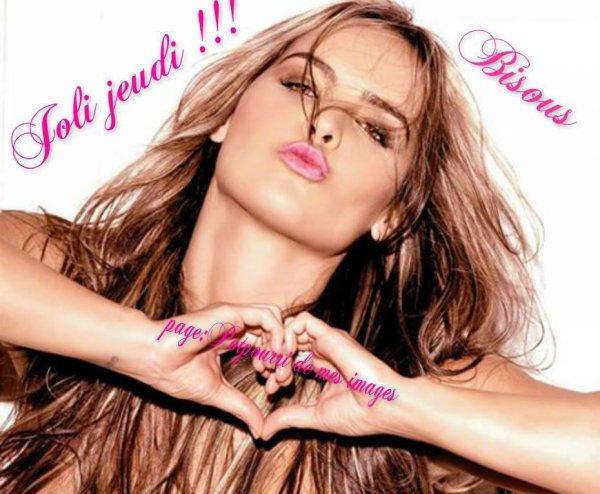 C AVEC LA CHALEUR PARISIENNE LOL QUE JE VIENS VOUS SOUHAITER UN BON JEUDI APRES-MIDI ! PENSEZ A BIEN VOUS HYDRATER !!!! BISOUSSS ♥♥♥