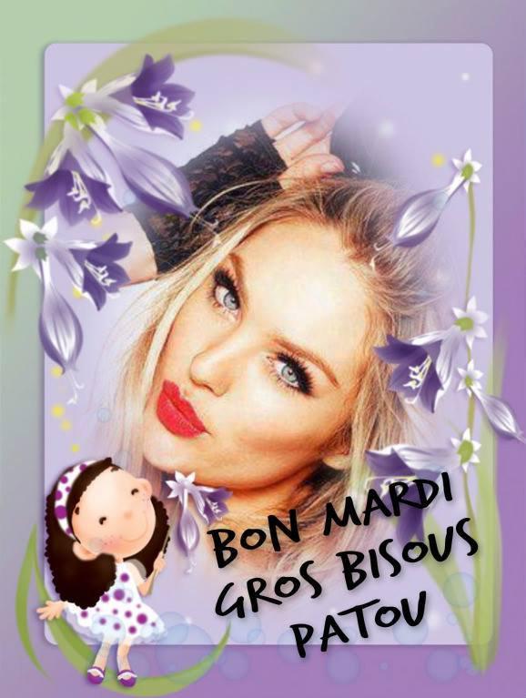 BON MARDI APRES-MIDI ! BISOUS MES AMI(e)S....♥♥♥