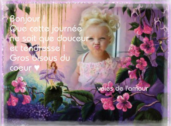 BON LUNDI ET BONNE SEMAINE A VOUS TOUS ET TOUTES.. BON COURAGE A CEUX QUI REPRENNENT LE TAF ( moi c demain...snif!) BONNES VACANCES A CEUX QUI SONT EN VACANCES !!! ;) BISOUSSS !!! ♥♥♥