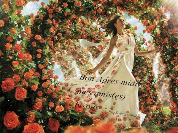 BON LUNDI APRES-MIDI....BONNE SEMAINE A VOUS TOUS ET TOUTES ! BISOUS MES AMI(e)S..... ♥♥♥