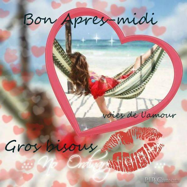 BONNE FIN DE MERCREDI APRES-MIDI ! BISOUS MES AMI(E)S.... ♥♥♥