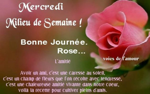 BON MERCREDI SOIR....BONNE SOIREE A VOUS TOUS....SUIVIE D'UNE DOUCE NUIT ! BISOUS MES AMI(E)S.... ♥♥♥