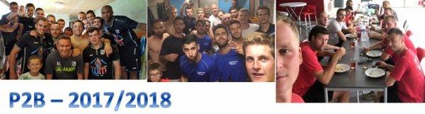 126e article : la première journée de championnat 2017-2018 équipes PREMIERES : Schaltin-Havelange en P2 , Soree-Feschaux en P3 ,  et en P4 : Schaltin B à Ohey