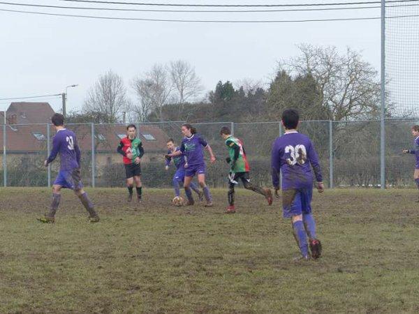 184e article : les matchs du samedi 17 février : les u14 contre Spy et u15 contre Ohey