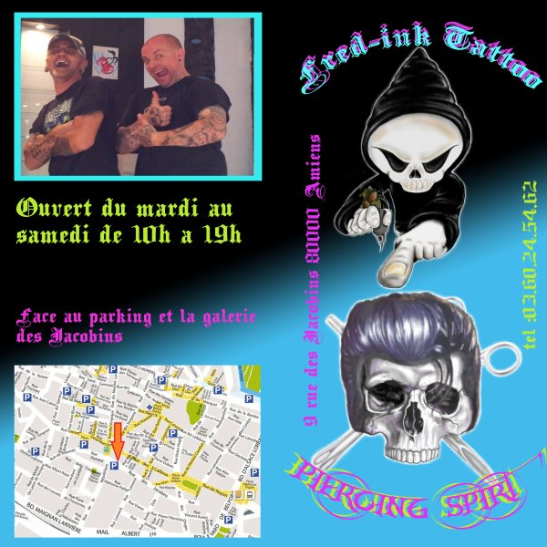venez visiter le facebook : Fred-ink tattoo ou freddy gricourt
