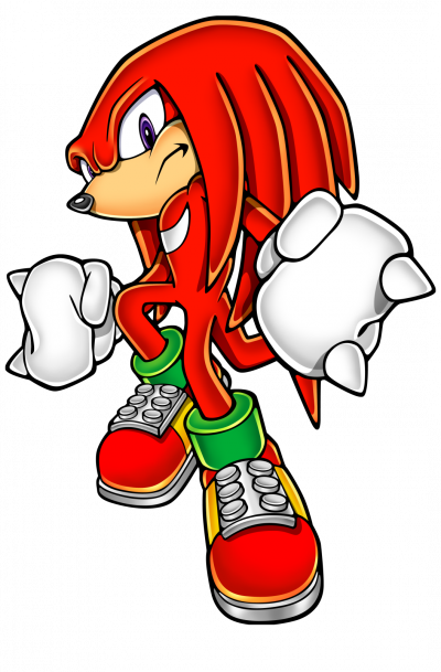 Knukles the echidna