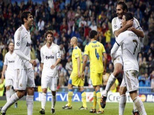 1/4 de finale retour de LDC : Real Madrid 5-2 APOEL Nicosie