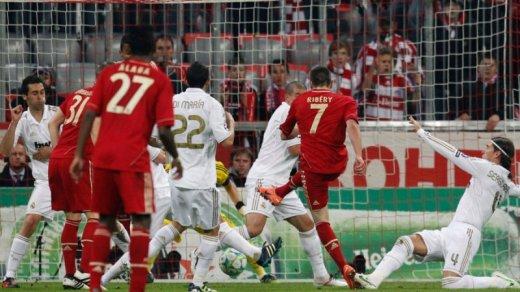 1/2 finale aller de LDC : Bayern Munich 2-1 Real Madrid