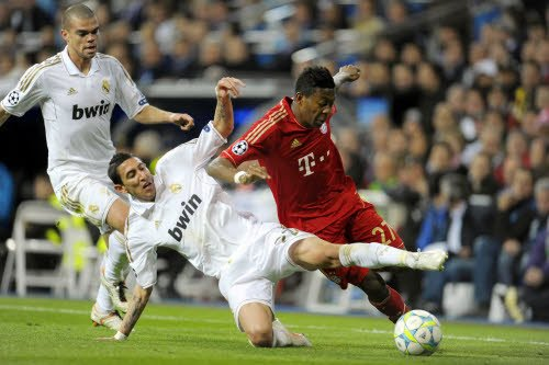 1/2 finale retour de LDC : Real Madrid 2-1 Bayern Munich (1TAB3)