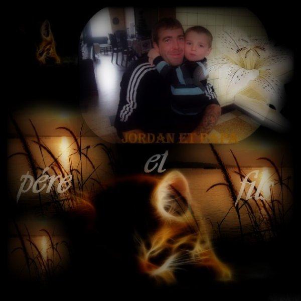 le papa et son fils je vous aimeeeeeee forttttttt mes amoursssss